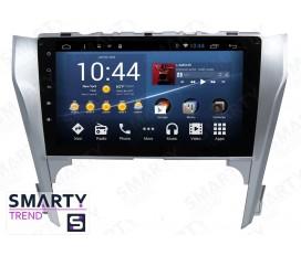 Toyota Camry V50 2011-2014 Autoradio Android Con Navigazione Integrata Unità di Testa