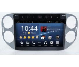 Volkswagen Tiguan Autoradio Android Con Navigazione Integrata Unità di Testa