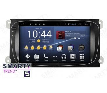 Ford Mondeo Autoradio Android Con Navigazione Integrata Unità di Testa