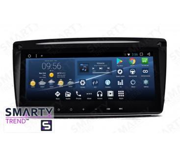 Skoda Octavia A5 2004-2013 Autoradio Android Con Navigazione Integrata Unità di Testa