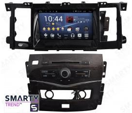 Nissan Patrol 2015+ Autoradio Android Con Navigazione Integrata Unità di Testa