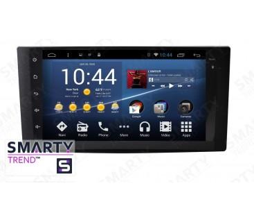 Subaru Impreza Autoradio Android Con Navigazione Integrata Unità di Testa