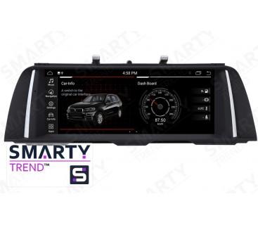 BMW 5 Series F10/F11 Autoradio Android Con Navigazione Integrata Unità di Testa