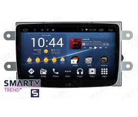 Renault Captur 2015 Autoradio Android Con Navigazione Integrata Unità di Testa