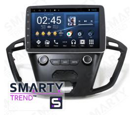 Ford Tourneo Autoradio Android Con Navigazione Integrata Unità di Testa
