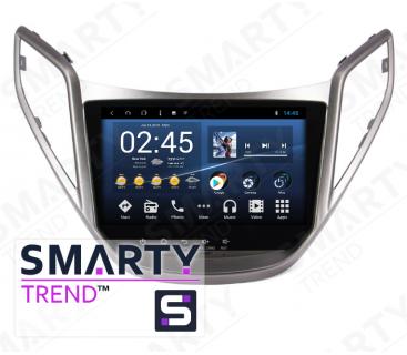 Hyundai HB20 Autoradio Android Con Navigazione Integrata Unità di Testa