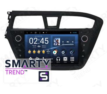 Hyundai i20 Autoradio Android Con Navigazione Integrata Unità di Testa