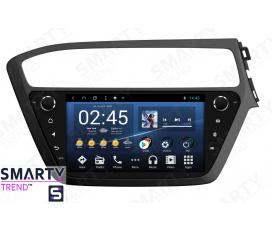 Hyundai i20 2018+ Autoradio Android Con Navigazione Integrata Unità di Testa