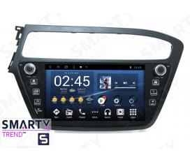 Hyundai i20 Europe Autoradio Android Con Navigazione Integrata Unità di Testa