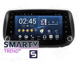 Hyundai Santa Fe IV 2018+ Autoradio Android Con Navigazione Integrata Unità di Testa
