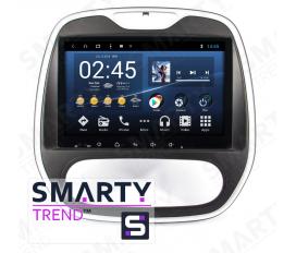 Renault Captur Autoradio Android Con Navigazione Integrata Unità di Testa