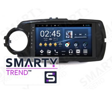 Toyota Yaris 2017+ Autoradio Android Con Navigazione Integrata Unità di Testa