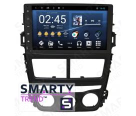 Toyota Yaris 2018+ Autoradio Android Con Navigazione Integrata Unità di Testa