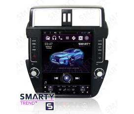Toyota Land Cruiser Prado 150 2014-2017 - Tesla Style Autoradio Android Con Navigazione Integrata Unità di Testa