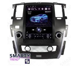 Nissan Patrol 2015+ - Tesla Style Autoradio Android Con Navigazione Integrata Unità di Testa