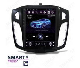 Ford Focus III 2012-2016 - Tesla Style Autoradio Android Con Navigazione Integrata Unità di Testa