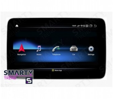 Mercedes-Benz ML-Class (W166) 2008-2012 Autoradio Android Con Navigazione Integrata Unità di Testa