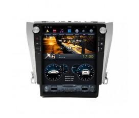 Toyota Camry V50 2011-2014 - Tesla Style Autoradio Android Con Navigazione Integrata Unità di Testa
