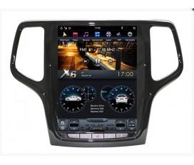 Jeep Grand Cherokee (2013-2019) - Tesla Style Autoradio Android Con Navigazione Integrata Unità di Testa