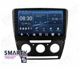 Skoda Octavia A5 2004-2013 (Manual Air-Conditioner version) Autoradio Android Con Navigazione Integrata Unità di Testa