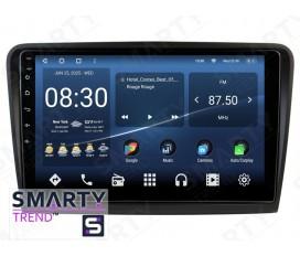 Skoda Superb 2013-2015 Autoradio Android Con Navigazione Integrata Unità di Testa