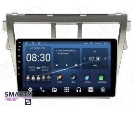 Toyota Yaris 2005-2013 Autoradio Android Con Navigazione Integrata Unità di Testa