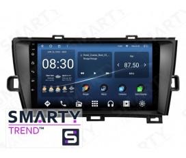 Toyota Prius 2012 Autoradio Android Con Navigazione Integrata Unità di Testa