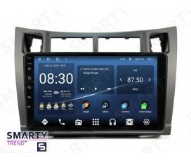 Toyota Yaris 2008-2011 Autoradio Android Con Navigazione Integrata Unità di Testa