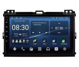 Toyota Land Cruiser Prado 120 2006-2010 Autoradio Android Con Navigazione Integrata Unità di Testa