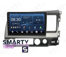 Honda CIVIC 4D 2006-2011 RHD Autoradio Android Con Navigazione Integrata Unità di Testa