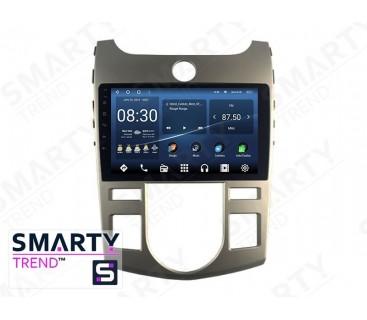 KIA Cerato / Forte / K3 2009-2012 (Auto Air-Conditioner version) Autoradio Android Con Navigazione Integrata Unità di Testa