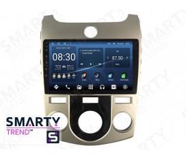 KIA Cerato / Forte / K3 2009-2012 (Manual Air-Conditioner version) Autoradio Android Con Navigazione Integrata Unità di Testa