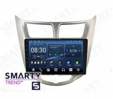 Hyundai Accent / Solaris / Verna Autoradio Android Con Navigazione Integrata Unità di Testa