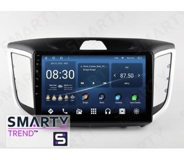 Hyundai Creta 2016+ (ix25) Autoradio Android Con Navigazione Integrata Unità di Testa