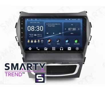 Hyundai Santa Fe IX45 2012-2017 Autoradio Android Con Navigazione Integrata Unità di Testa