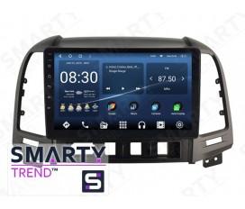 Hyundai Santa Fe 2006-2012 Autoradio Android Con Navigazione Integrata Unità di Testa
