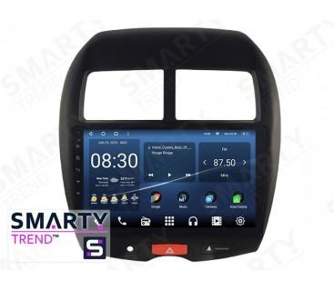 Mitsubishi ASX 2010-2012 Autoradio Android Con Navigazione Integrata Unità di Testa