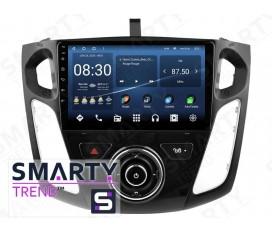 Ford Focus III 2015-2017 Autoradio Android Con Navigazione Integrata Unità di Testa