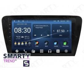 Skoda Octavia A7 Autoradio Android Con Navigazione Integrata Unità di Testa