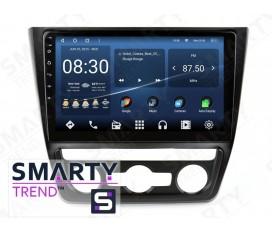Skoda Yeti 2014-2017 (Auto Air-Conditioner version) Autoradio Android Con Navigazione Integrata Unità di Testa