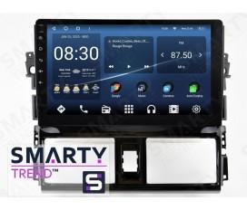 Toyota Yaris 2013+ Autoradio Android Con Navigazione Integrata Unità di Testa