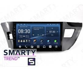 Toyota Corolla 2013-2016 Autoradio Android Con Navigazione Integrata Unità di Testa