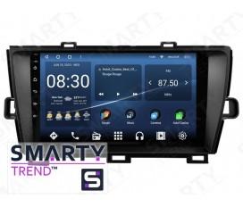 Toyota Prius RHD 2012 Autoradio Android Con Navigazione Integrata Unità di Testa