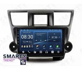 Toyota Highlander 2011-2015 Autoradio Android Con Navigazione Integrata Unità di Testa