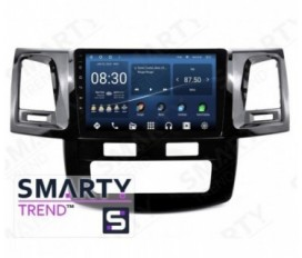 Toyota Hilux 2012 (Auto Air-Conditioner version) Autoradio Android Con Navigazione Integrata Unità di Testa