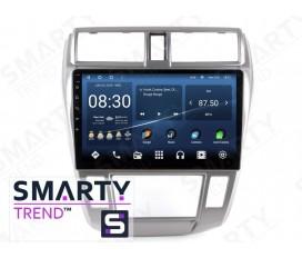 Honda City 2008-2011 (Auto Air-Conditioner version) Autoradio Android Con Navigazione Integrata Unità di Testa