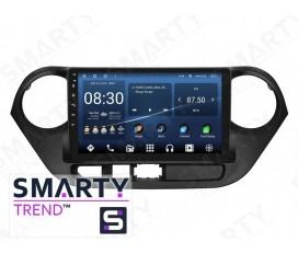 Hyundai i10 Autoradio Android Con Navigazione Integrata Unità di Testa