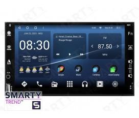 Universal 2 DIN Autoradio Android Con Navigazione Integrata Unità di Testa