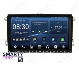 Universal Volkswagen / Skoda / Fiat / Seat Autoradio Android Con Navigazione Integrata Unità di Testa