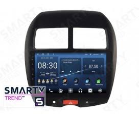 Mitsubishi ASX 2012+ Autoradio Android Con Navigazione Integrata Unità di Testa